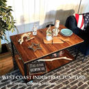 西海岸I-BranchクラシックCoffeeソファーカフェテーブル【送料無料】(T18)