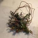 プロテアの渋色枝みせリース