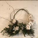 白綿の枝みせリース