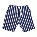 STRIPE BLANKET FLEECE SHORTS