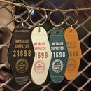 Vintage style motel key tag
