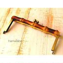 9月20日販売開始!【HA-953】竹の口金21cm(アンティークゴールド)