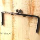 【HA-191】22cm/角型(肉球)・ブラック