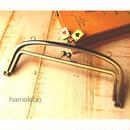 4月5日販売開始!【HA-843】<初回限定価格>親子口金 20.4cm(トランプ×アンティークゴールド)・カン付き