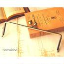 3月29日販売開始!【HA-471】25cm角型の口金(大きなネコ玉×肉球×アンティークゴールド)