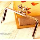 8月30日販売開始!【HA-483】12cm/角型(ネコ玉×シルバー)