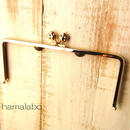 【HA-1106】22cm/角型(肉球)・ゴールド