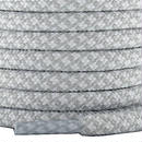 """ROPE LACES MIX """"WHITE/SILVER"""""""