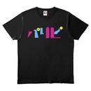 ワビサビのパリピTシャツ ブラック