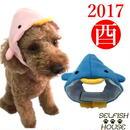 酉年!ペンギンの帽子 (フリース)犬猫用 【SS/S/M/L】 コスプレ かぶりもの