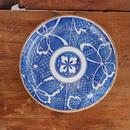 no38  蝶の印判皿