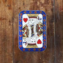 no129   ハートのキング 七宝小箱