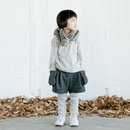 check warm shorts (charcoal/95.110) / MOUN TEN.