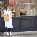 【onlinestore限定】small tote fake basket milk