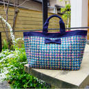 準備中【新作】 town mini summer tweed navy blue