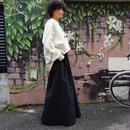 【完売】thomas magpie long skirt black