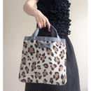 small tote summer leopard  限定ライナー