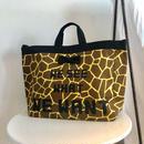 【新作】adjust strap tote giraffe logotip