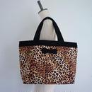 【春夏新作】basic tote intoxic. original textile  leopard