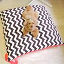 犬と寝るクッション(大型クッション)