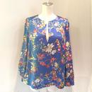 PINKO(ピンコ) blue flower blouse 1811G139W-6858