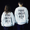 PURE UNCUT ACID Sweat / White