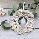 Bohemin  wreath ornament  3