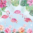 29852  Trunowsky : Flamingos & Lilies