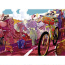 Bike Art - Tour in Pink  :  Shan Jiang - 29677