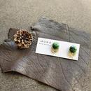 Green vintage  ピアス/イヤリング