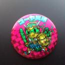 ゴーヤ天帝(ゴーヤ先生×イーサキング)キャラキャラマン缶バッチ57mm