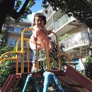 Kids リネンガーゼストール /PNK