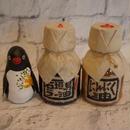 ラー油 と にんにく油+ペンギン張子