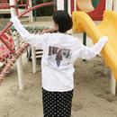 #gg8803083 L/S Print T-Shirt (WHITE)