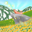 A4イラスト059 春の香り陽