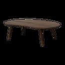 モフィ 120 テーブル (ウォルナット) / MOFY 120 TABLE (WALNUT)