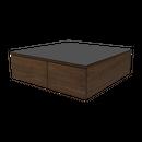 カルロス センターテーブル 90 (ミディアムブラウン) / CARLOS CENTER TABLE 90 (MBR)
