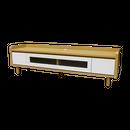 アスティ TVボード 160 (ナチュラル+ホワイト) / ASTY TV BORD 160 (NA+WH)