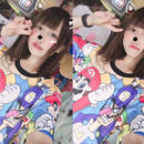 マリオ総柄BIGTシャツ/select
