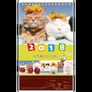 <<★八月おすすめ★>> 2018カレンダー[卓上]