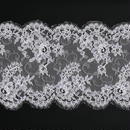 French Leavers Lace 85020.2/22 RPH37  WHITE