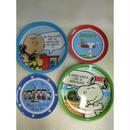 【中古】【代引不可】スヌーピー プラスチック皿 食器 SNOOPY PEANUTS 188-246SK