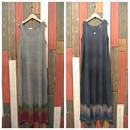 JAVARA N/S MAXI DRESS ZIG-ZAG