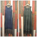 JAVARA N/S MAXI DRESS TWO TONE