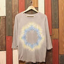 "JAVARA Raglan Sleeve 7tee ""SNOW DYE"" (light gray)"