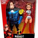 インクレディブル・ファミリー 13インチ フィギュア イラスティガール&ミスター・インクレディブル The Incredibles 2   Elastigirl & Mr. Incredible