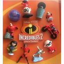 インクレディブル・ファミリー アメリカ McDonald's Happy Meal Toy 10種セット