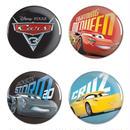 カーズ クロスロード     CARS3 x  NASCAR 缶バッジ 4個セット