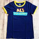 『トイストーリー』 ショップ限定 レディース リンガーTシャツ Disney Pixar Toy Story Al's Toy Barn Womens Ringer T-Shirt