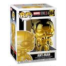 ファンコ ポップ マーベル10周年 アントマン(ゴールド)  Funko Pop! Marvel Studios The First Ten Years Ant-Man (GOLD CHROME)
